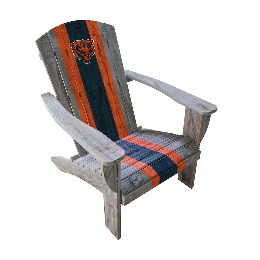 Chicago Bears Wooden Adirondack Chair