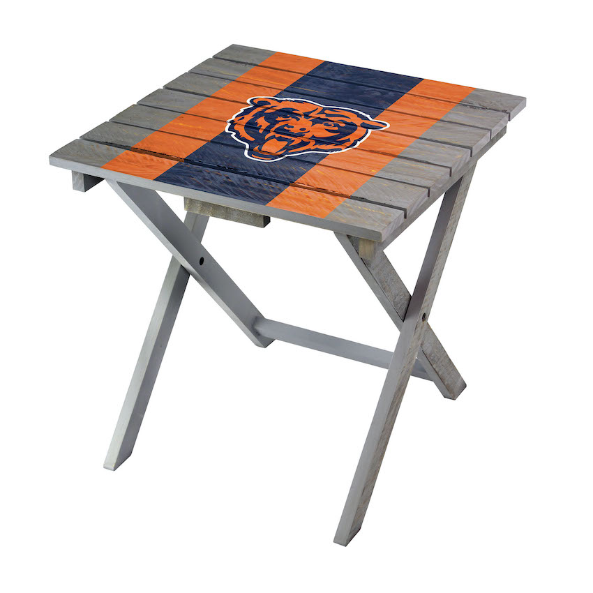 Chicago Bears Wooden Adirondack Folding Table