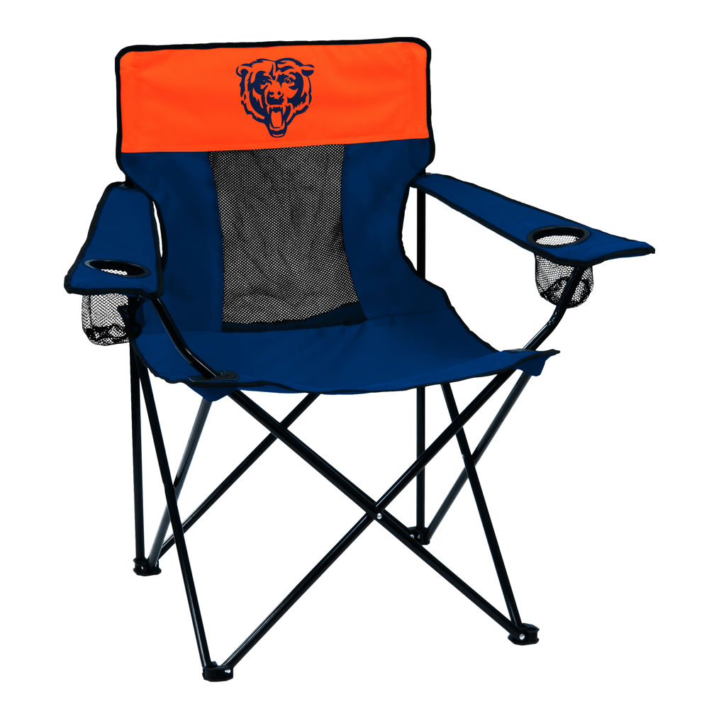 Chicago Bears ELITE logo folding camp style chair