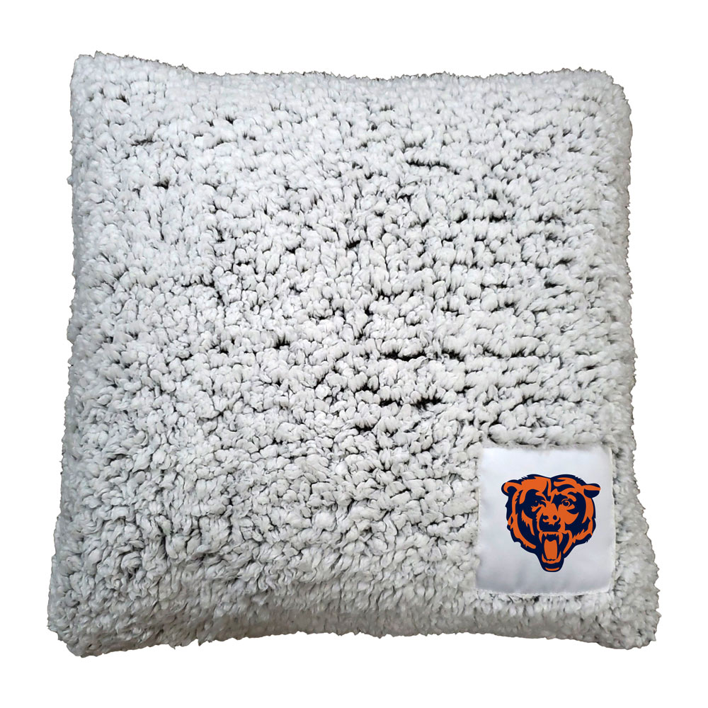 Chicago Bears Frosty Throw Pillow