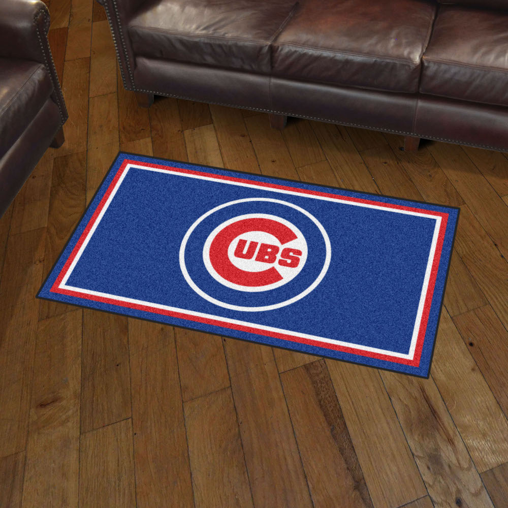 Chicago Cubs 3x5 Area Rug
