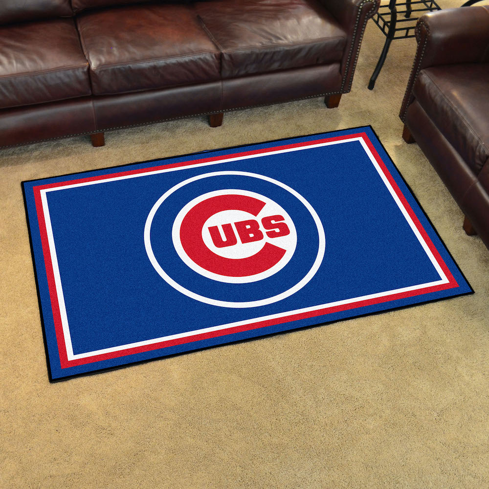 Chicago Cubs 4x6 Area Rug