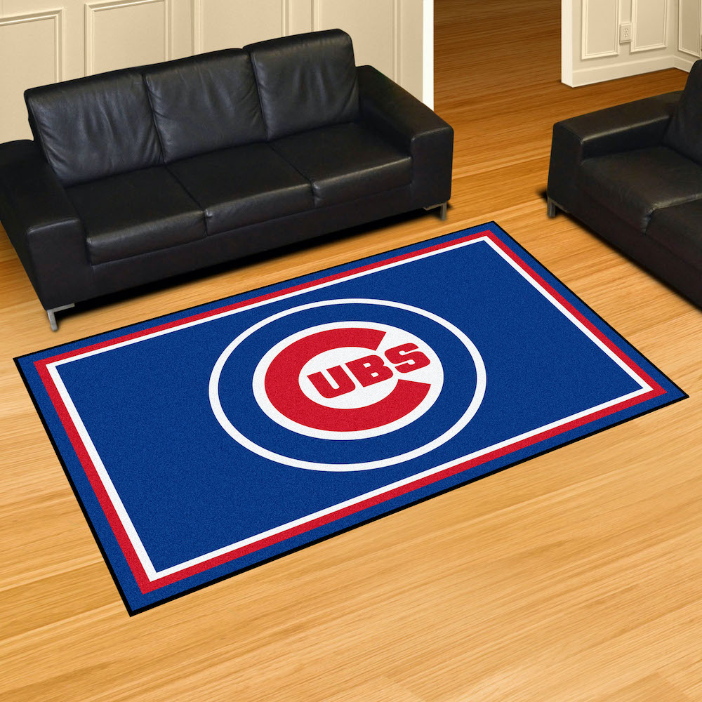 Chicago Cubs 5x8 Area Rug