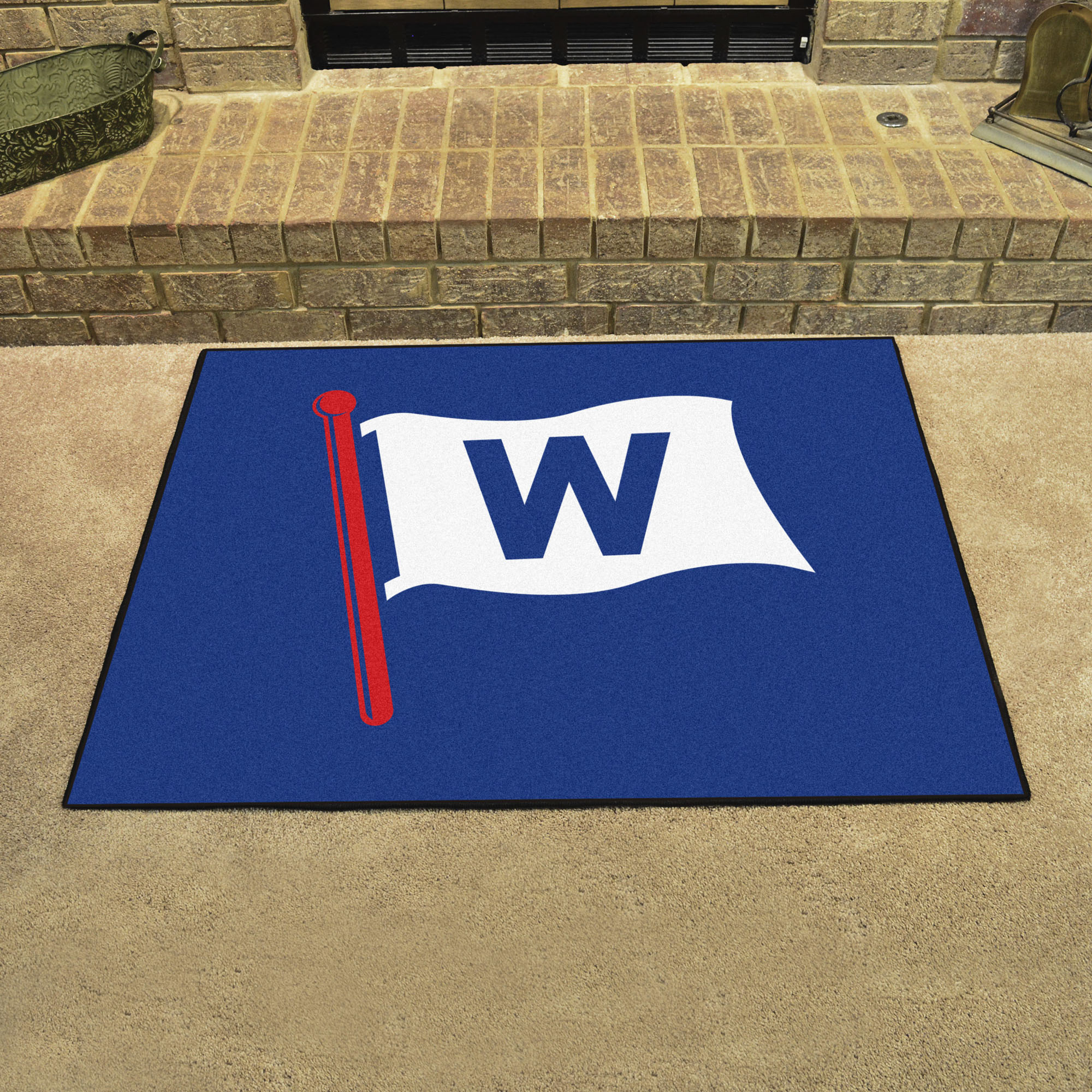 Chicago Cubs FLY THE W ALL STAR 34 x 45 Floor Mat