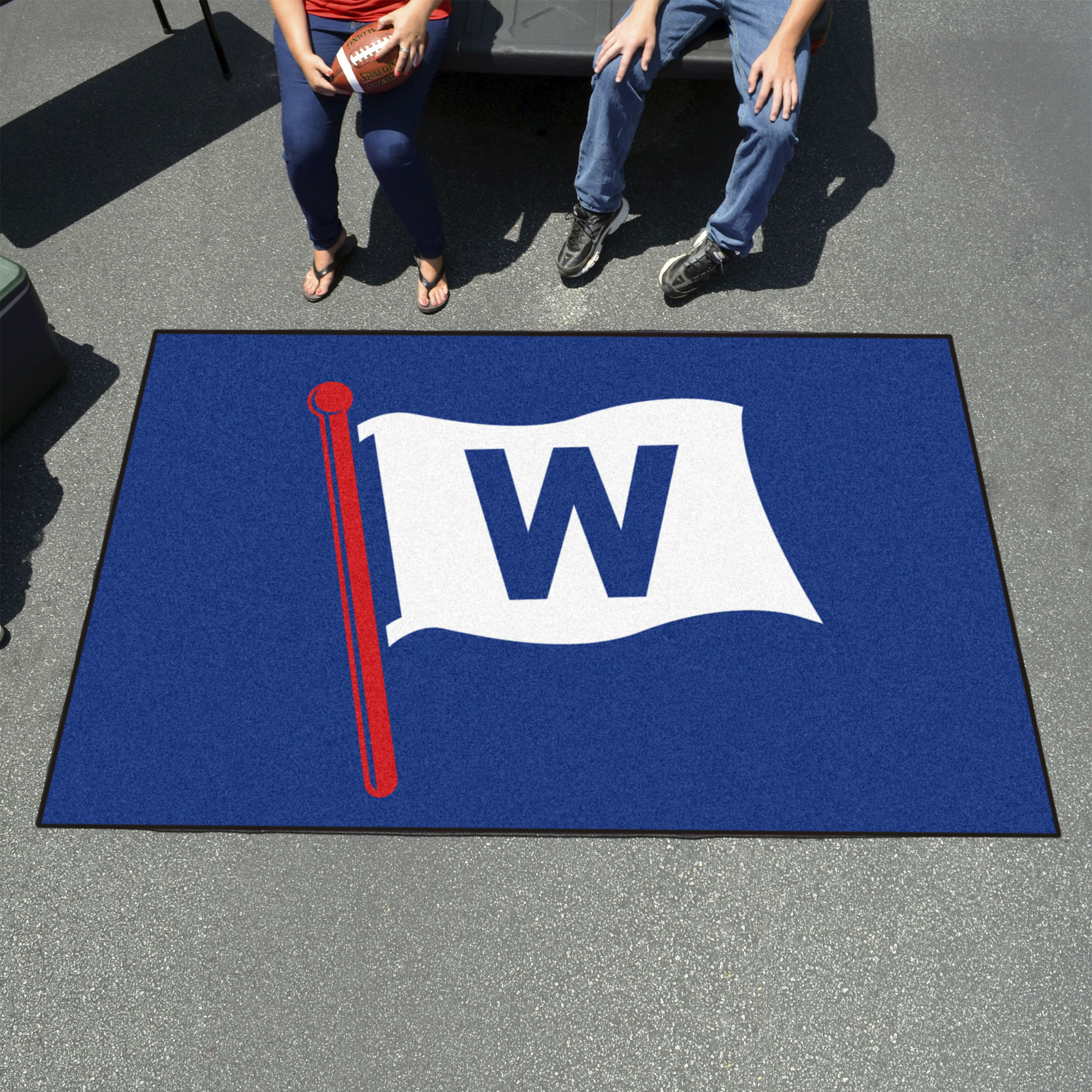 Chicago Cubs FLY THE W UTILI-MAT 60 x 96 Rug
