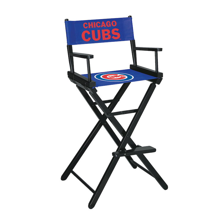 Chicago Cubs Directors Chair BAR Height