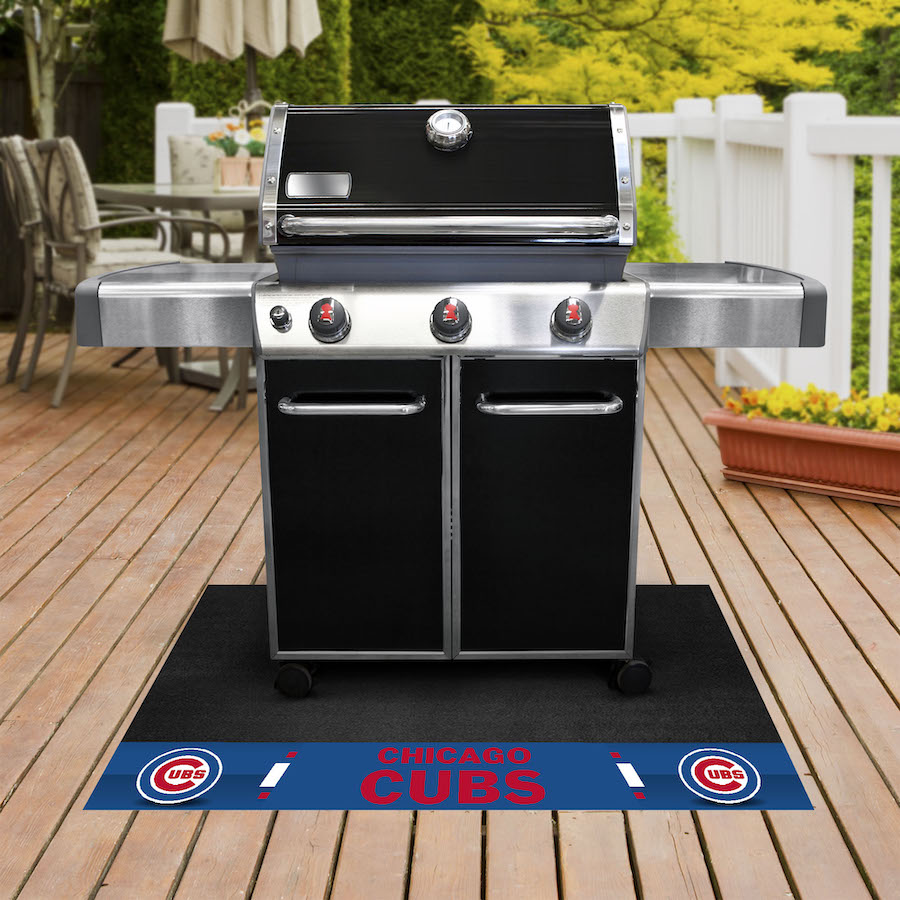 Chicago Cubs MLB Grill Mat