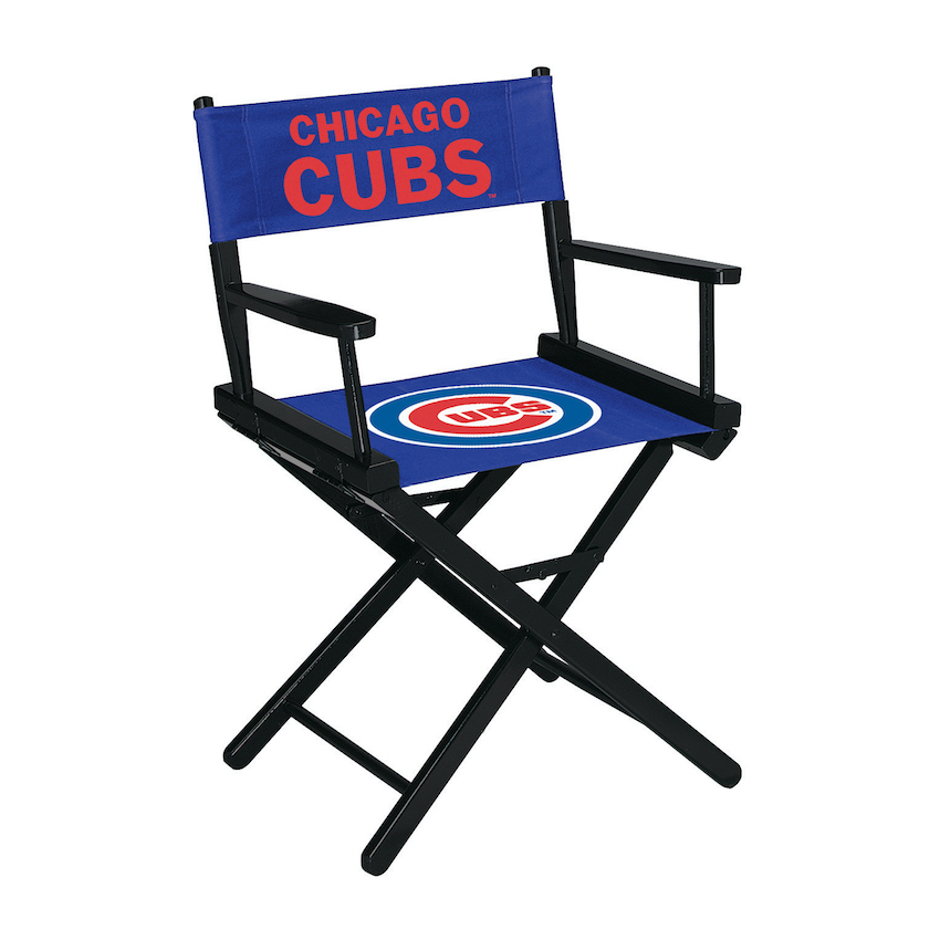 Chicago Cubs Directors Chair TABLE Height