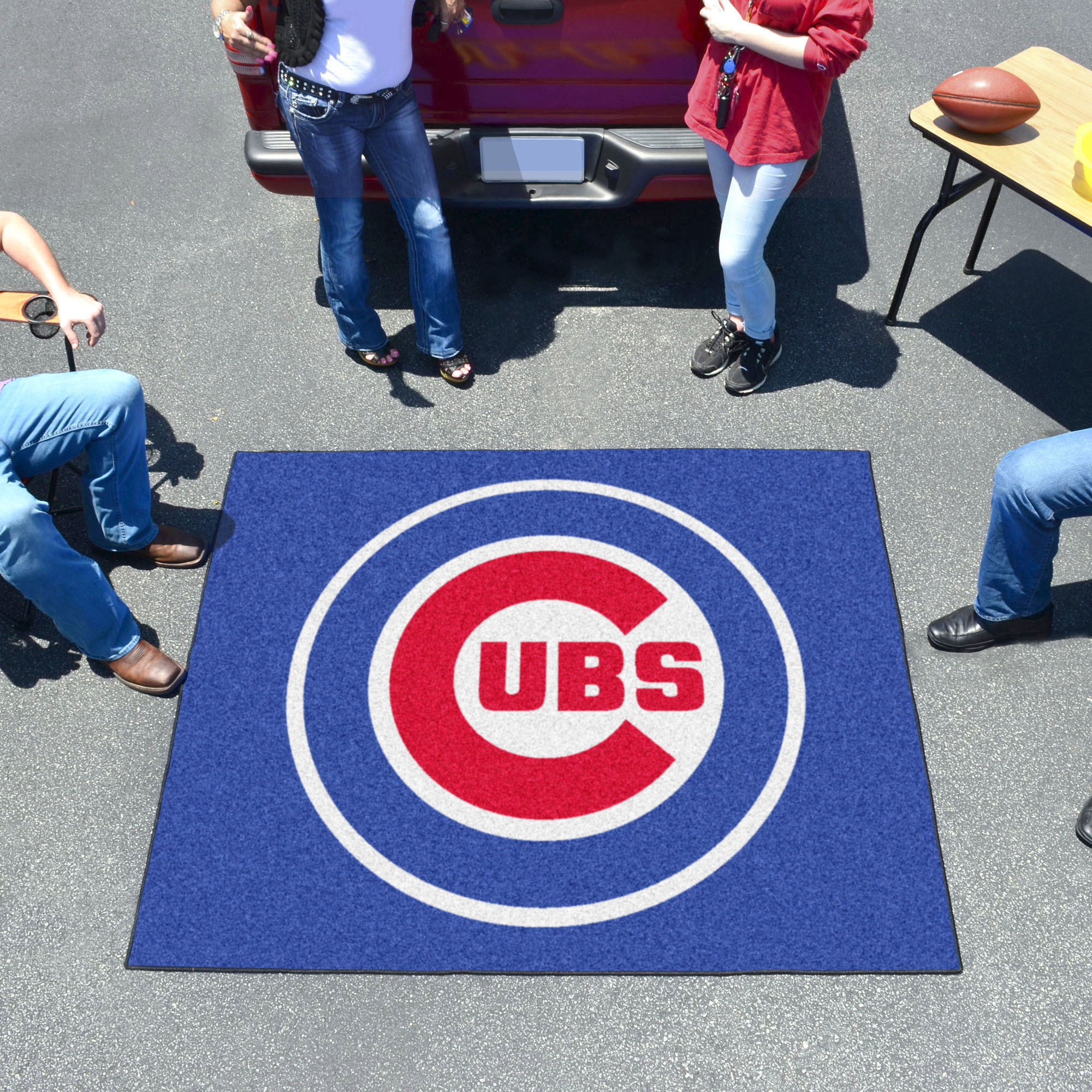 Chicago Cubs TAILGATER 60 x 72 Rug