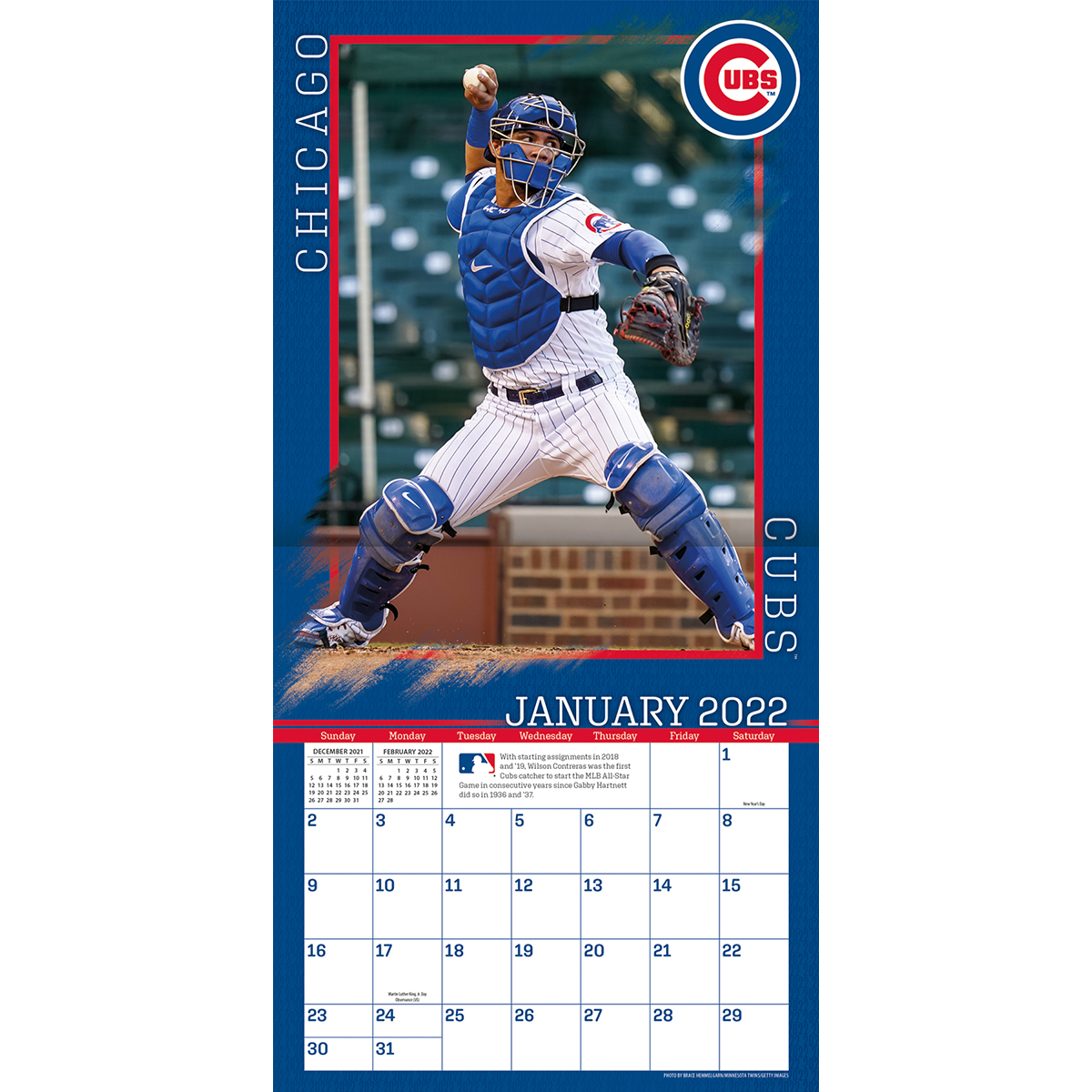 Chicago Cubs 2018 Wall Calendar Buy At Khc Sports