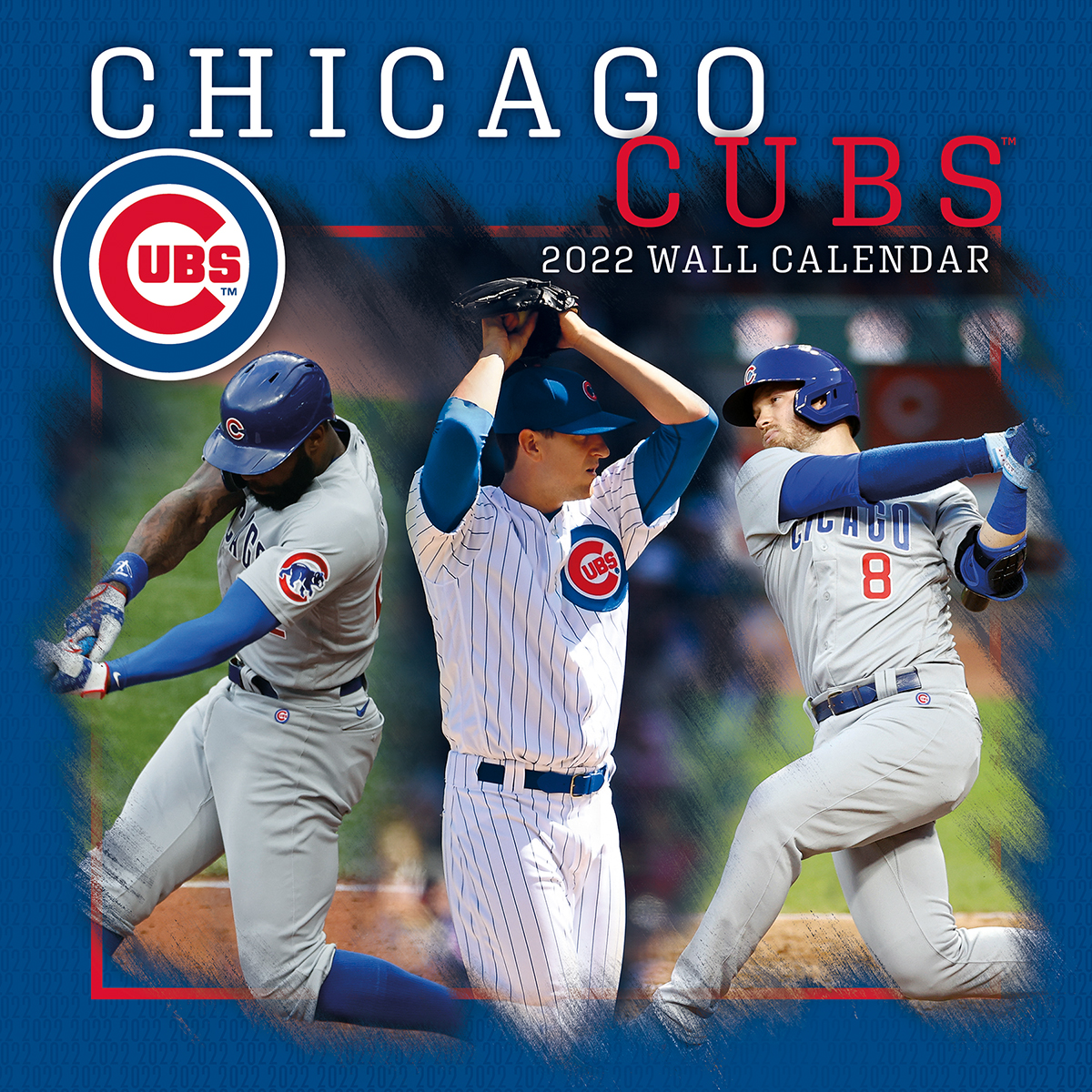 Chicago Cubs 2021 Mini Wall Calendar