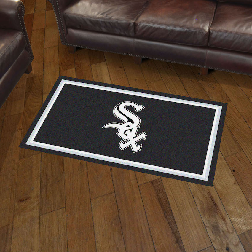 Chicago White Sox 3x5 Area Rug