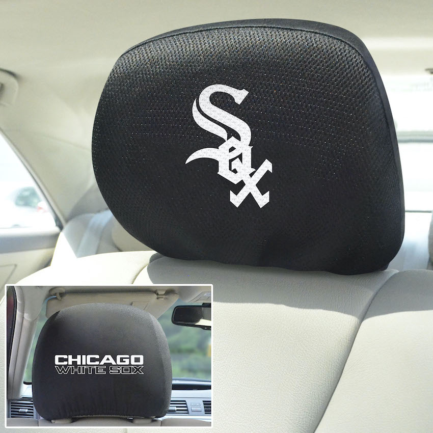 Chicago White Sox Head Rest Covers