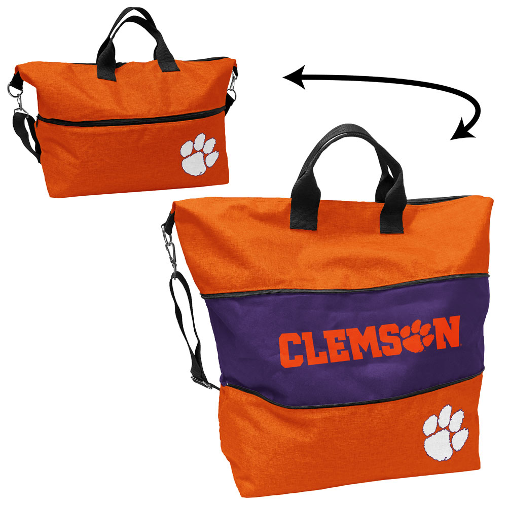 Clemson Tigers Expandable Tote