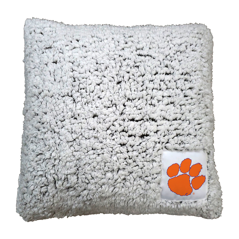 Clemson Tigers Frosty Throw Pillow