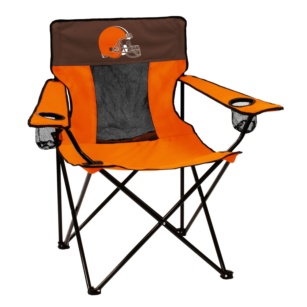 Cleveland Browns ELITE logo folding camp style chair