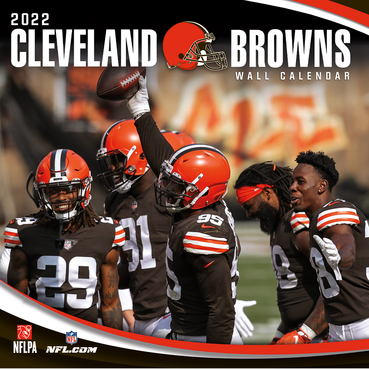 Cleveland Browns 2021 NFL Mini Wall Calendar