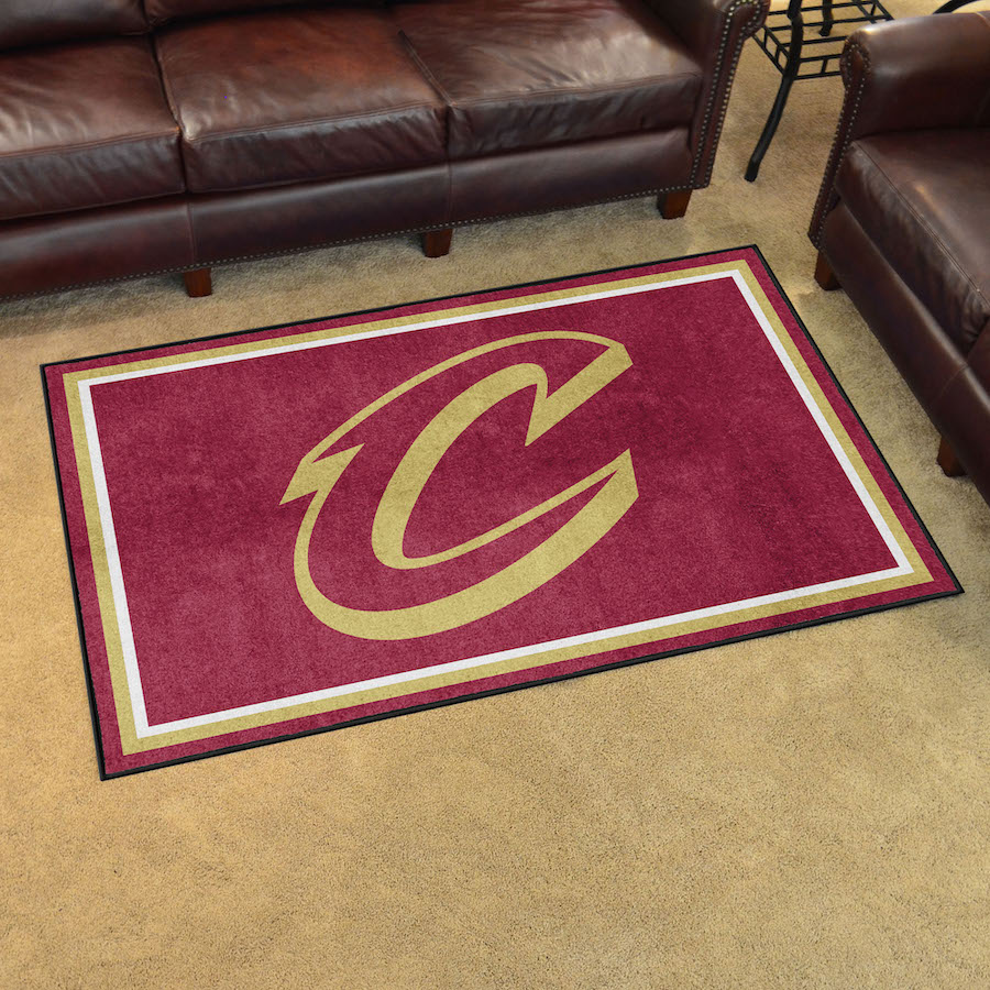 Cleveland Cavaliers 4x6 Area Rug