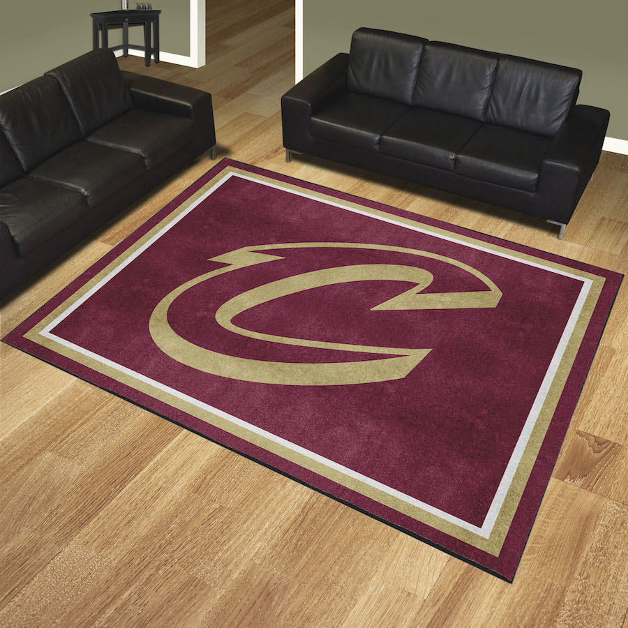 Cleveland Cavaliers Ultra Plush 8x10 Area Rug