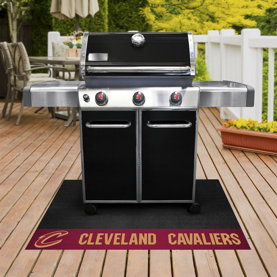 Cleveland Cavaliers NBA Grill Mat