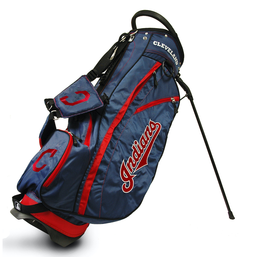 Cleveland Indians Fairway Carry Stand Golf Bag