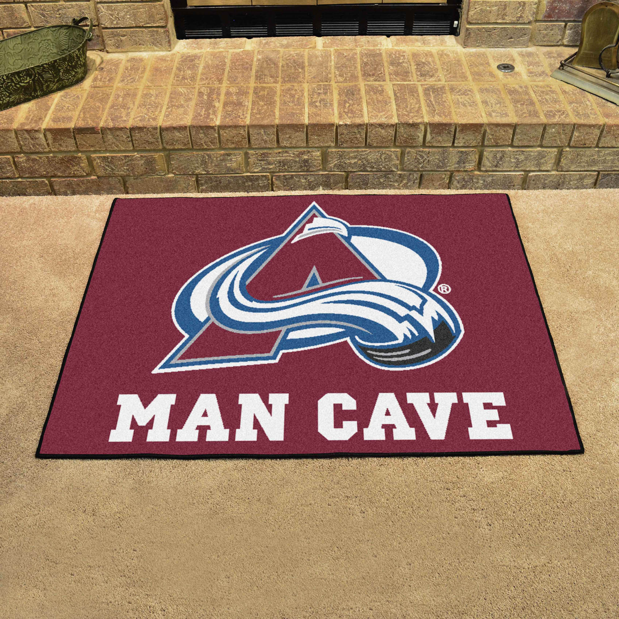 Colorado Avalanche ALL STAR 34 x 45 MAN CAVE Floor Mat