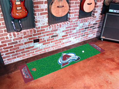 Colorado Avalanche Putting Green Mat 18 x 72