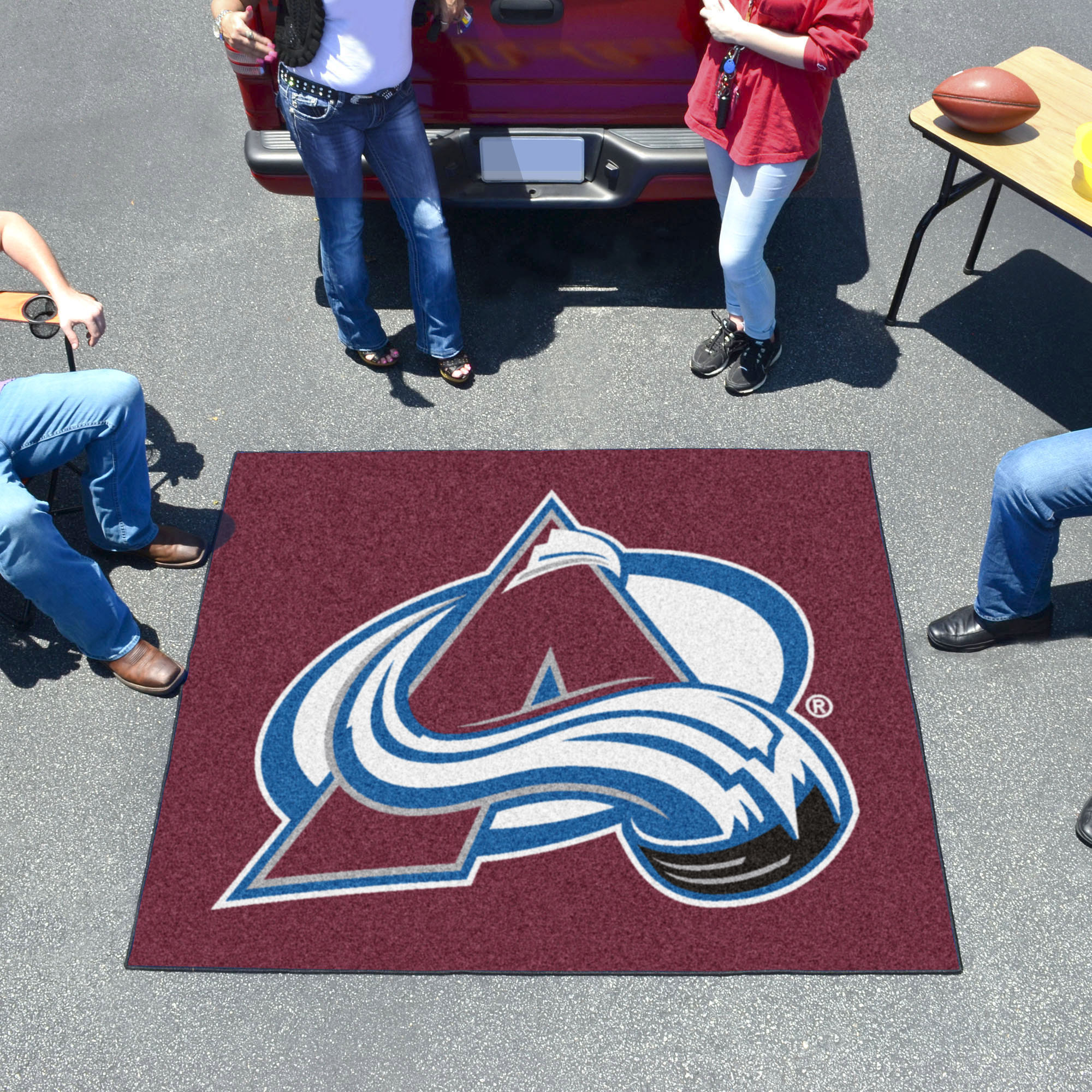Colorado Avalanche TAILGATER 60 x 72 Rug