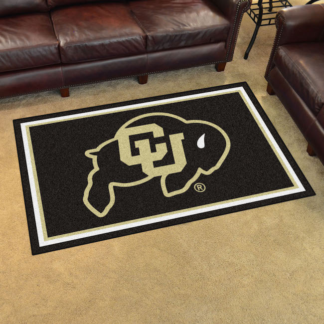 Colorado Buffaloes 4x6 Area Rug