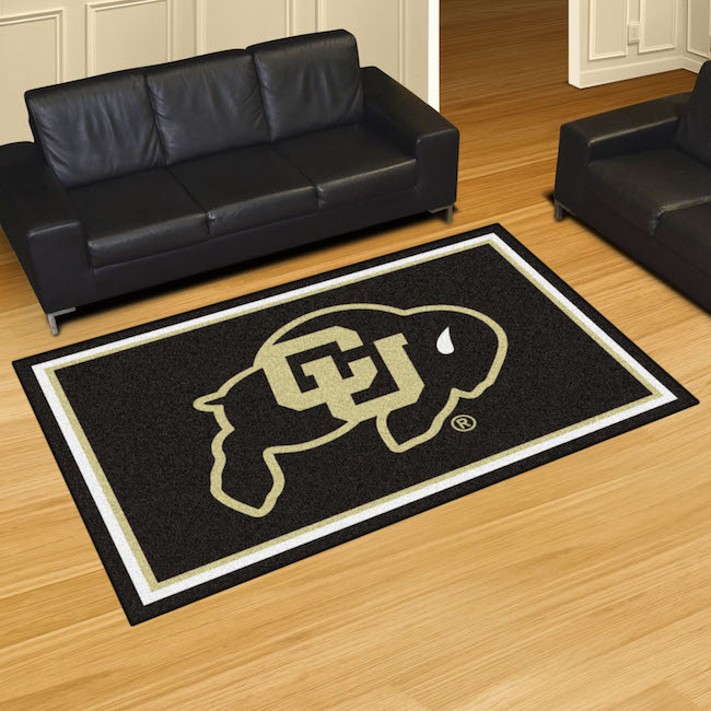 Colorado Buffaloes 5x8 Area Rug