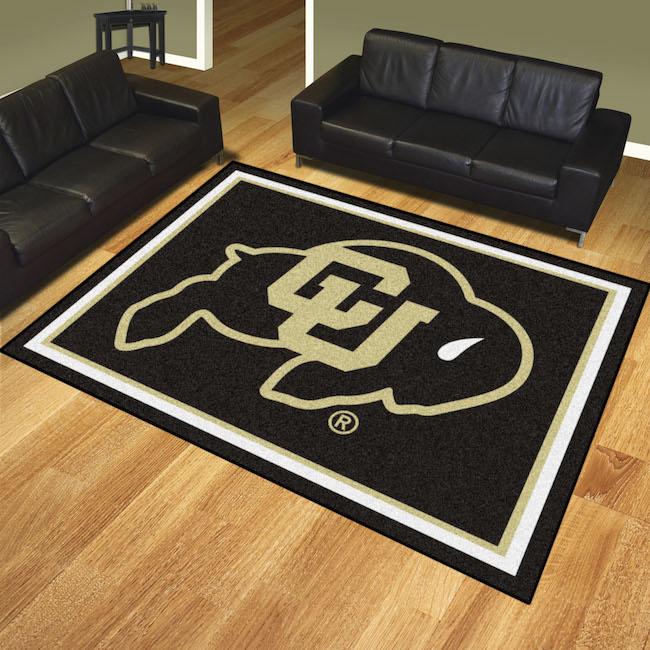 Colorado Buffaloes Ultra Plush 8x10 Area Rug