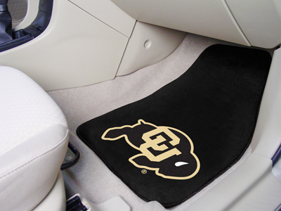 Colorado Buffaloes Car Floor Mats 18 x 27 Carpeted-Pair