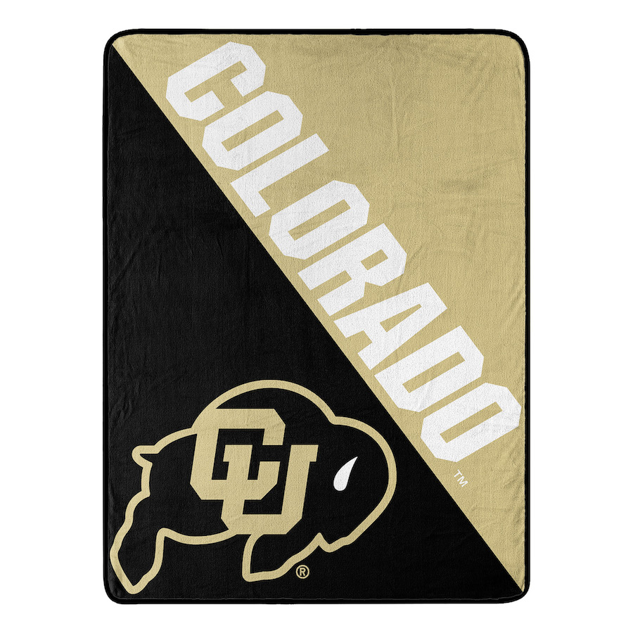 Colorado Buffaloes Micro Raschel 50 x 60 Team Blanket