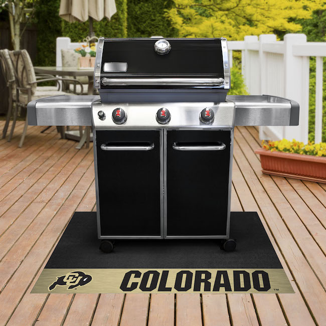 Colorado Buffaloes NCAA Grill Mat