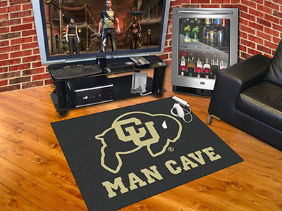 Colorado Buffaloes ALL STAR 34 x 45 MAN CAVE Floor Mat