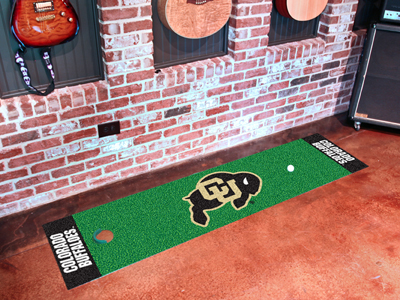 Colorado Buffaloes Putting Green Mat 18 x 72