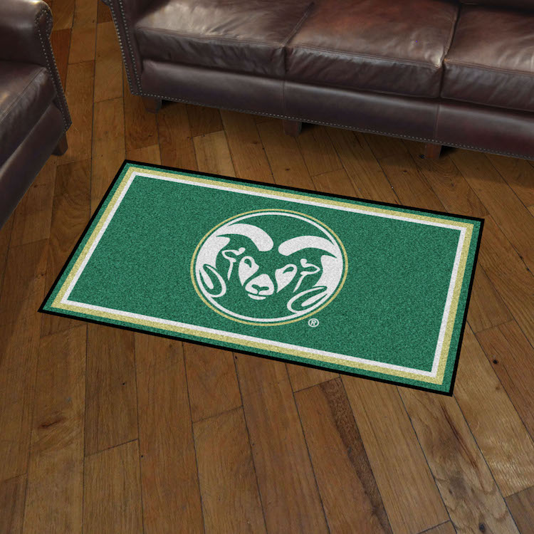 Colorado State Rams 3x5 Area Rug