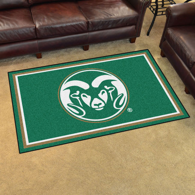 Colorado State Rams 4x6 Area Rug