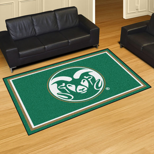 Colorado State Rams 5x8 Area Rug