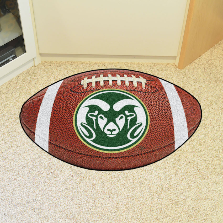 Colorado State Rams LOGO 22 x 35 FOOTBALL Mat