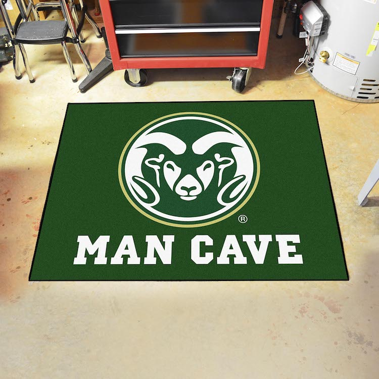 Colorado State Rams ALL STAR 34 x 45 MAN CAVE Floor Mat