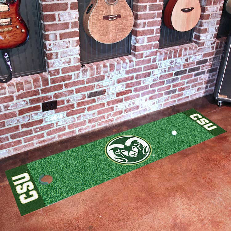 Colorado State Rams Putting Green Mat 18 x 72