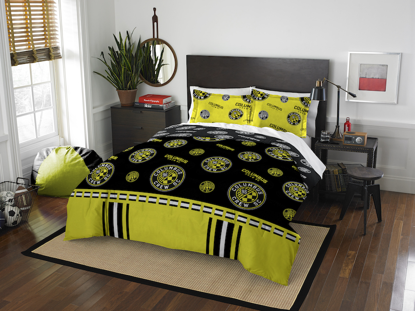 Columbus Crew QUEEN/FULL size Comforter and 2 Shams