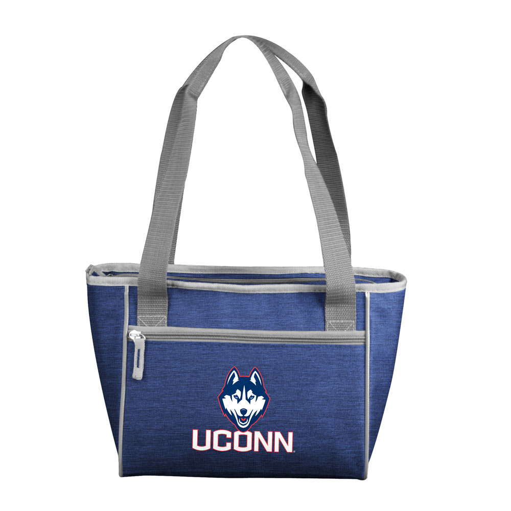 Connecticut Huskies Crosshatch 16 Can Cooler Tote