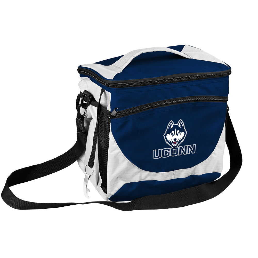 Connecticut Huskies 24 Can Cooler