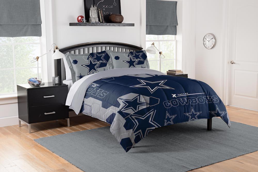 Dallas Cowboys King Size Comforter And 2 Shams Buy At