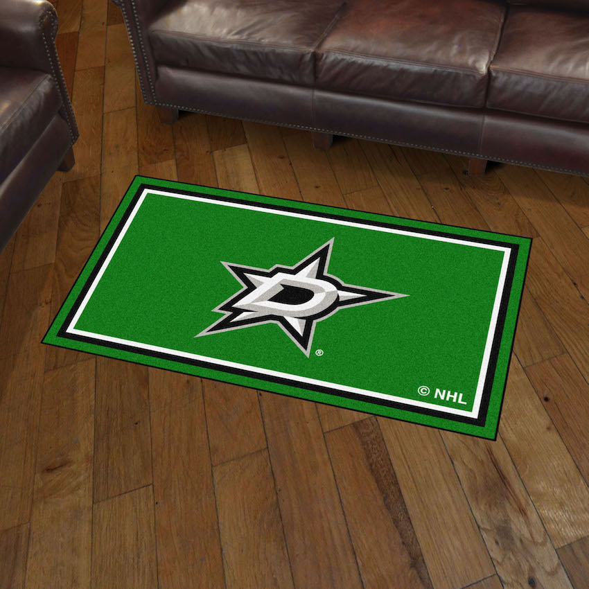 Dallas Stars 3x5 Area Rug