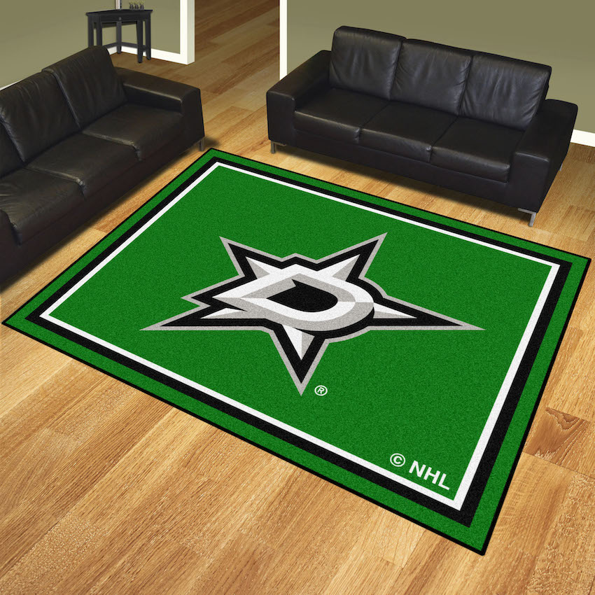 Dallas Stars Ultra Plush 8x10 Area Rug