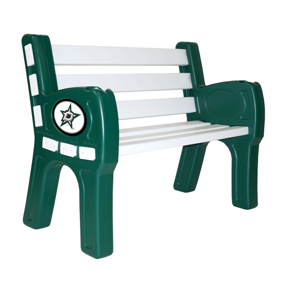Dallas Stars Park Bench