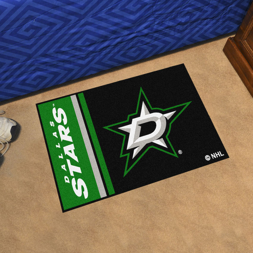 Dallas Stars 20 x 30 Uniform Inspired Starter Rug
